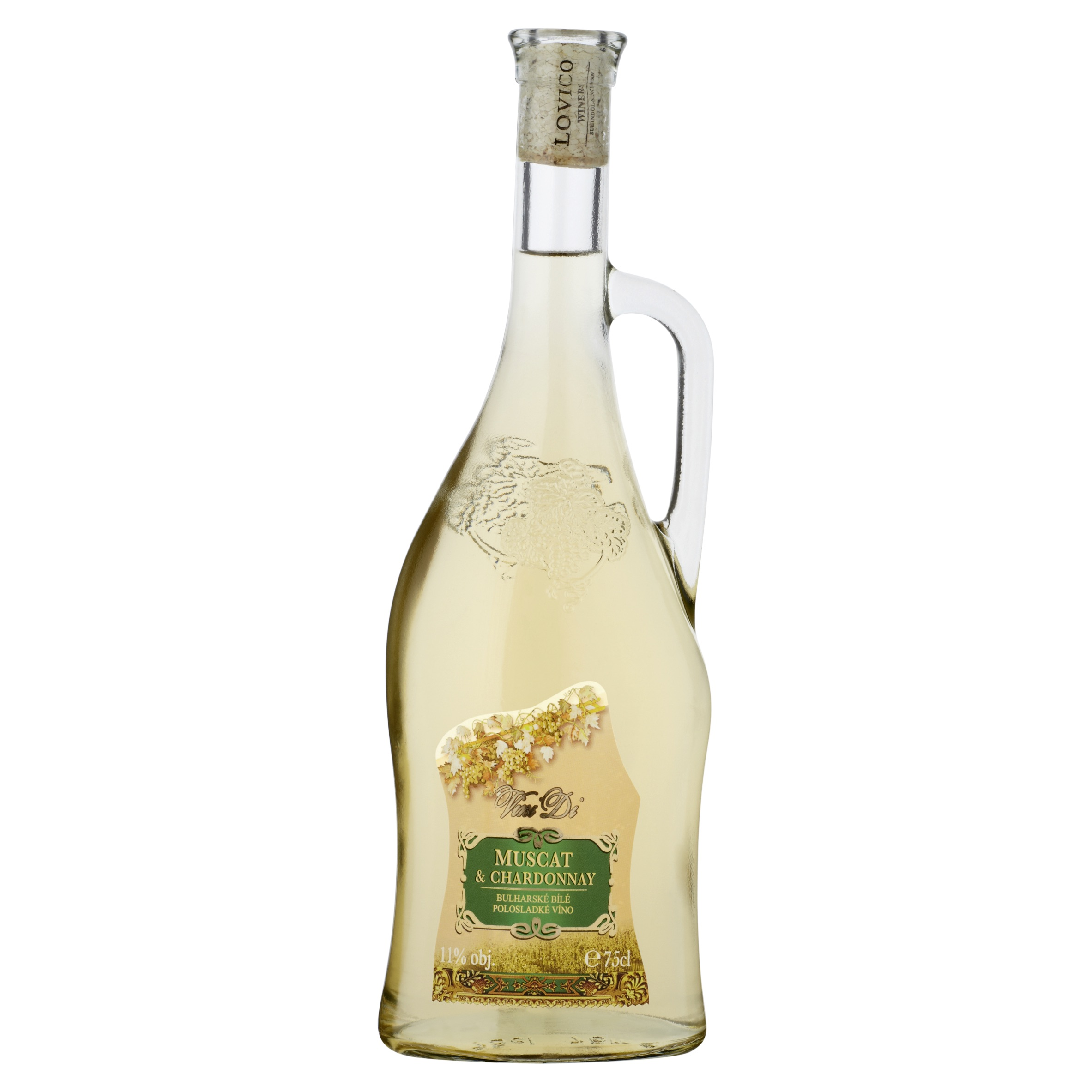 Bílá vína - polosladká