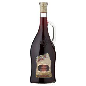 Červená vína - polosladká